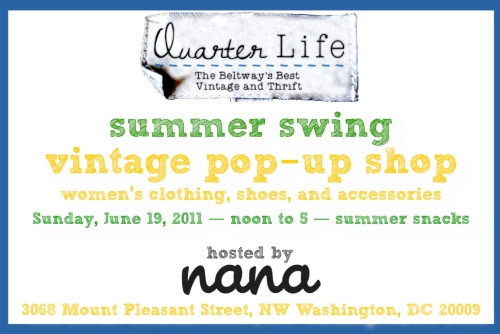 June pop-up at Nana