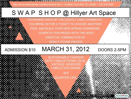 Hillyer Swap Shop March 2012