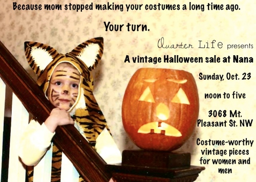 Vintage halloween costume sale
