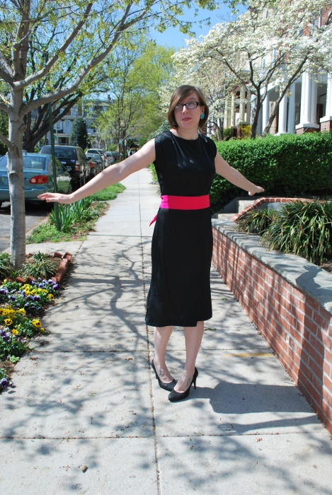 Modern Vintage black vintage dress