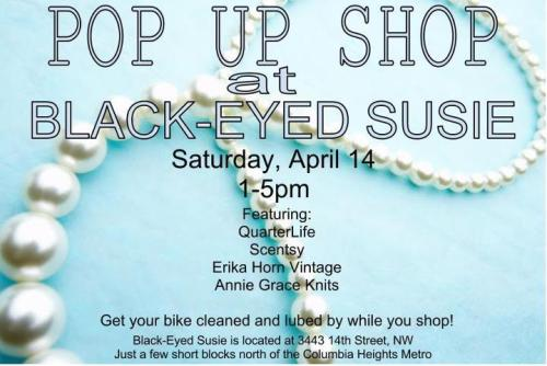 Black-Eyed Susie pop up shop