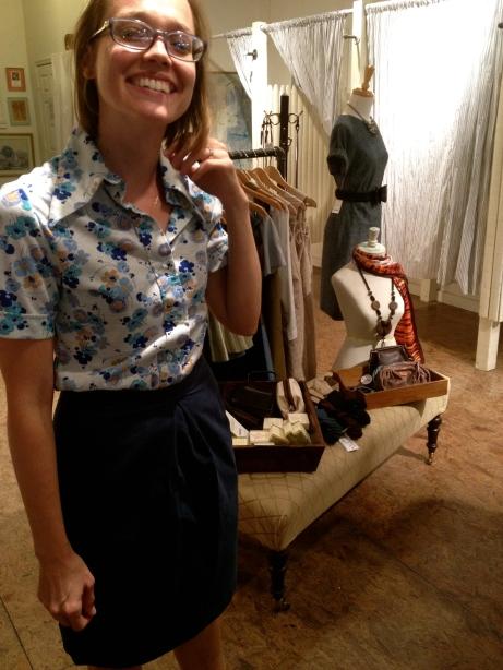 Heather in Quarter Life vintage