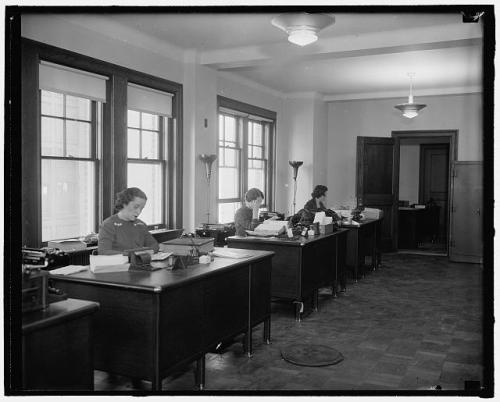 Women working 1937-40