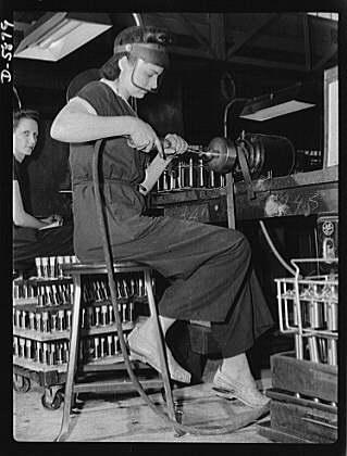 Defense worker, 1942