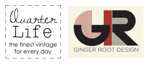 Quarter Life vintage at Ginger Root