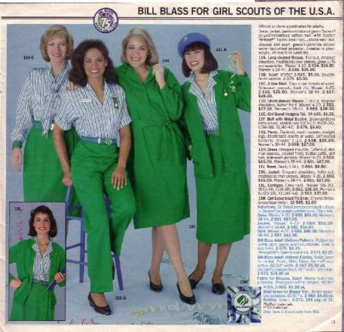 Girl Scout Catalog 1986